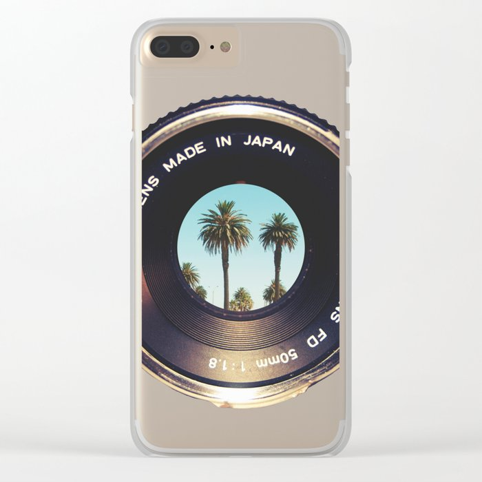 focus on palms Clear iPhone Case