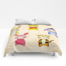 A Boy - Winnie and friends Comforters