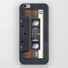Cassette Gold iPhone Skin