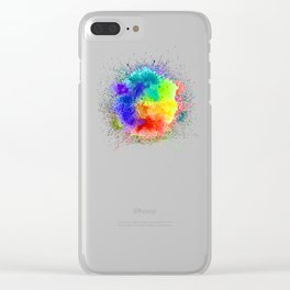 Festival of Colors Clear iPhone Case