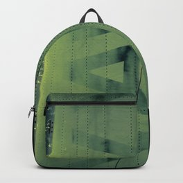 Fading Fuselage Navy Helicopter Airframe Green Backpack