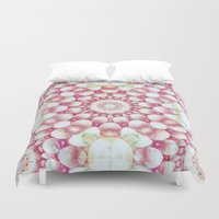 pomegranate Duvet Covers featuring Pomegranate by Truly Juel