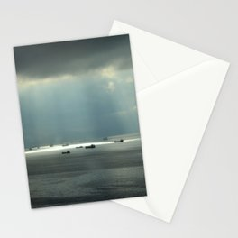Ships at sea in Istanbul Stationery Cards