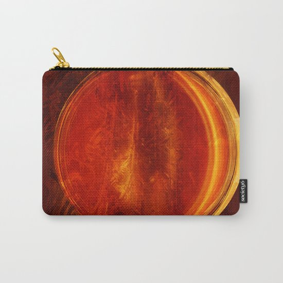 meditation orange Carry-All Pouch