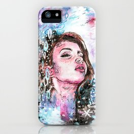 The cold breath iPhone Case