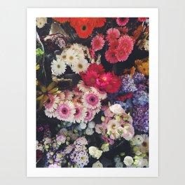 Lisbon Flowers Art Print