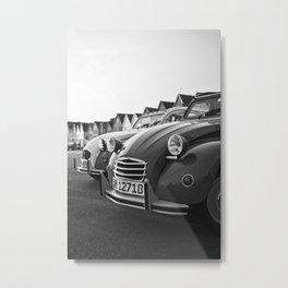 Vintage is cool, cars Metal Print