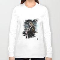 thranduil Long Sleeve T-shirts featuring Thranduil by Melo Monaco