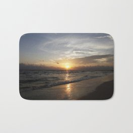 Bonita Beach Sunset Bath Mat