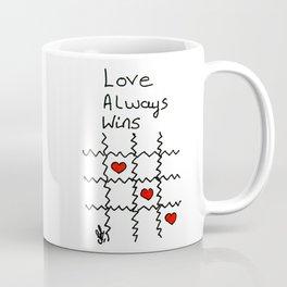Love always wins Coffee Mug