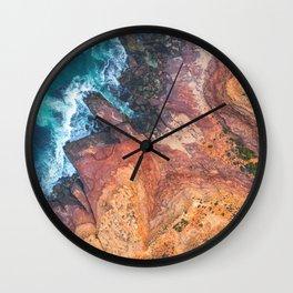 Red Bluff National Park - Kalbarri - Western Australia Wall Clock