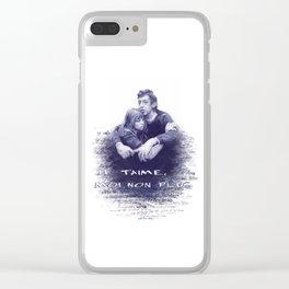 Je t'aime - Jane Birkin & Serge Gainsbourg Clear iPhone Case