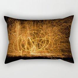 Home made fireworks Rectangular Pillow