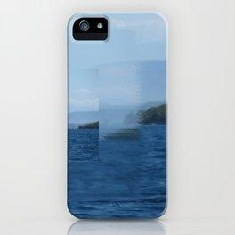 Clear focus Near Meganissi iPhone Case