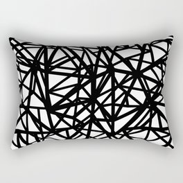 Ab  Out T Double Rectangular Pillow