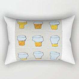 Beer diary. Rectangular Pillow