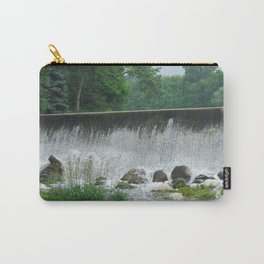 Spillway In The Mist Carry-All Pouch