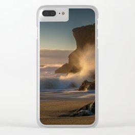 Kohaihai Bluff Clear iPhone Case