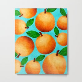 Orange You Happy? Metal Print