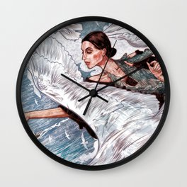 A Gaivota Wall Clock