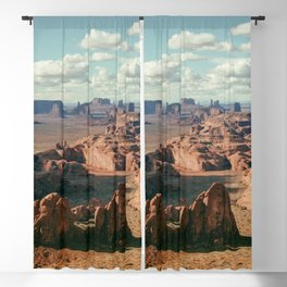Monument Valley Overview Blackout Curtain