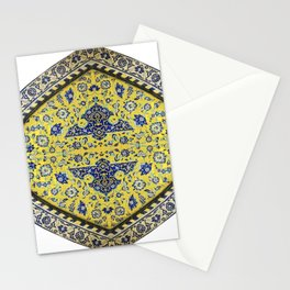 circle of love-Persian tile eastern pattern Stationery Cards