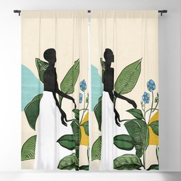 Mesmerized by nature  Blackout Curtain