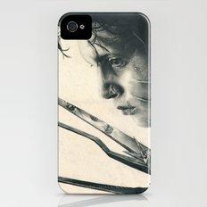 Edward Scissorhands ~ Johnny Depp Traditional Portrait Print iPhone (4, 4s) Slim Case