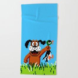 Duck Hunt Beach Towel