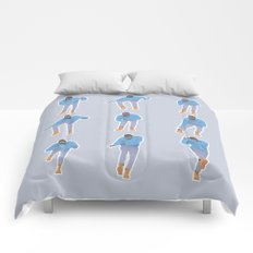 Hotline bling Comforters