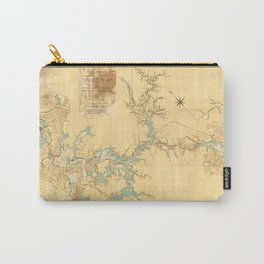 Map of the Proposed Panama Canal (1906) Carry-All Pouch