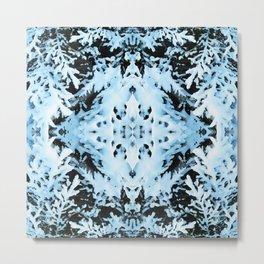 Snow Boughs Metal Print