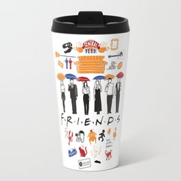 Friends collage Travel Mug