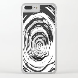 Pattern 53 Clear iPhone Case
