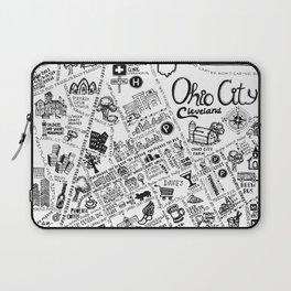 Ohio City Map Laptop Sleeve