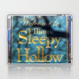 Sleepy Hollow Village Sign Laptop & iPad Skin