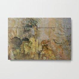 Plaster, No. 1 Metal Print