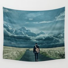 In Search of a Song Wall Tapestry