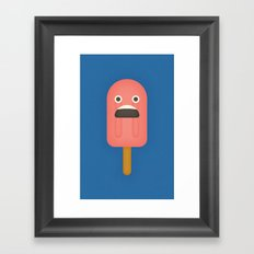 Popsicle Framed Art Print
