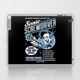 Sonic Screwdriver Laptop & iPad Skin