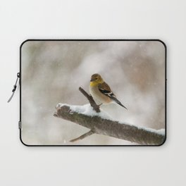 Out on a Limb (American Goldfinch) Laptop Sleeve