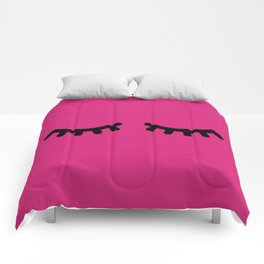 Lashes - Hot Pink Comforters