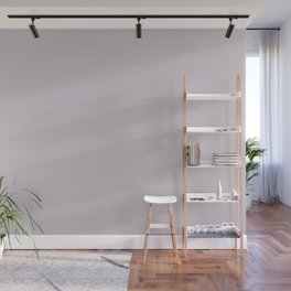 Periwinkle Pastel Purple Solid Color Pairs W/ Behr Paint's 2020 Forecast Trending Color Dusty Lilac Wall Mural