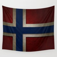 norway Wall Tapestries featuring Norway by The Traveller, Wanderlust and Me