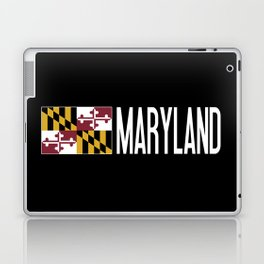 Maryland: Marylander Flag & Maryland Laptop & iPad Skin