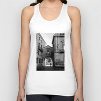 madrid Tank Tops featuring Madrid Walkings by PabloEgM