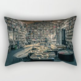 Books Everywhere Rectangular Pillow