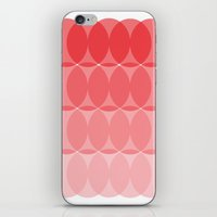 ombre iPhone & iPod Skins featuring Ombre by TypeArtist