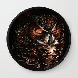 Owl, Barred Owl, Bird Wall Clock