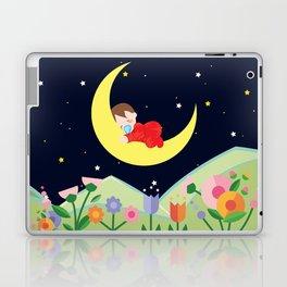 moonlight , nursery decor Laptop & iPad Skin
